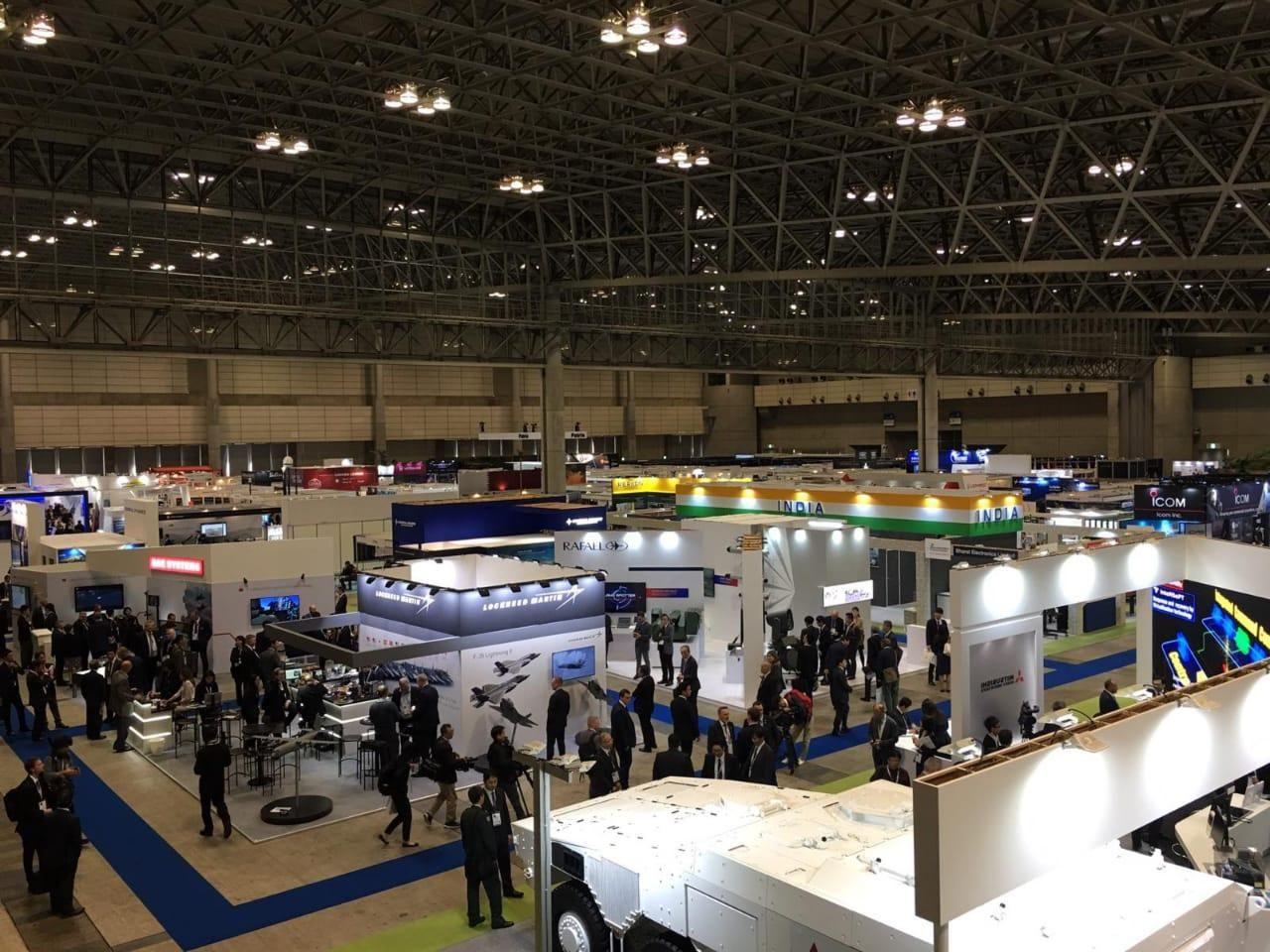 EDEX team attend DSEI Japan