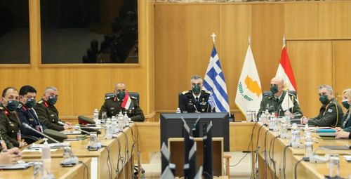 Greece-Egypt-Cyprus sign military cooperation deal