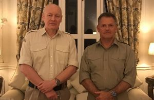 Defence Senior Advisor and his successor conclude visit to Egypt