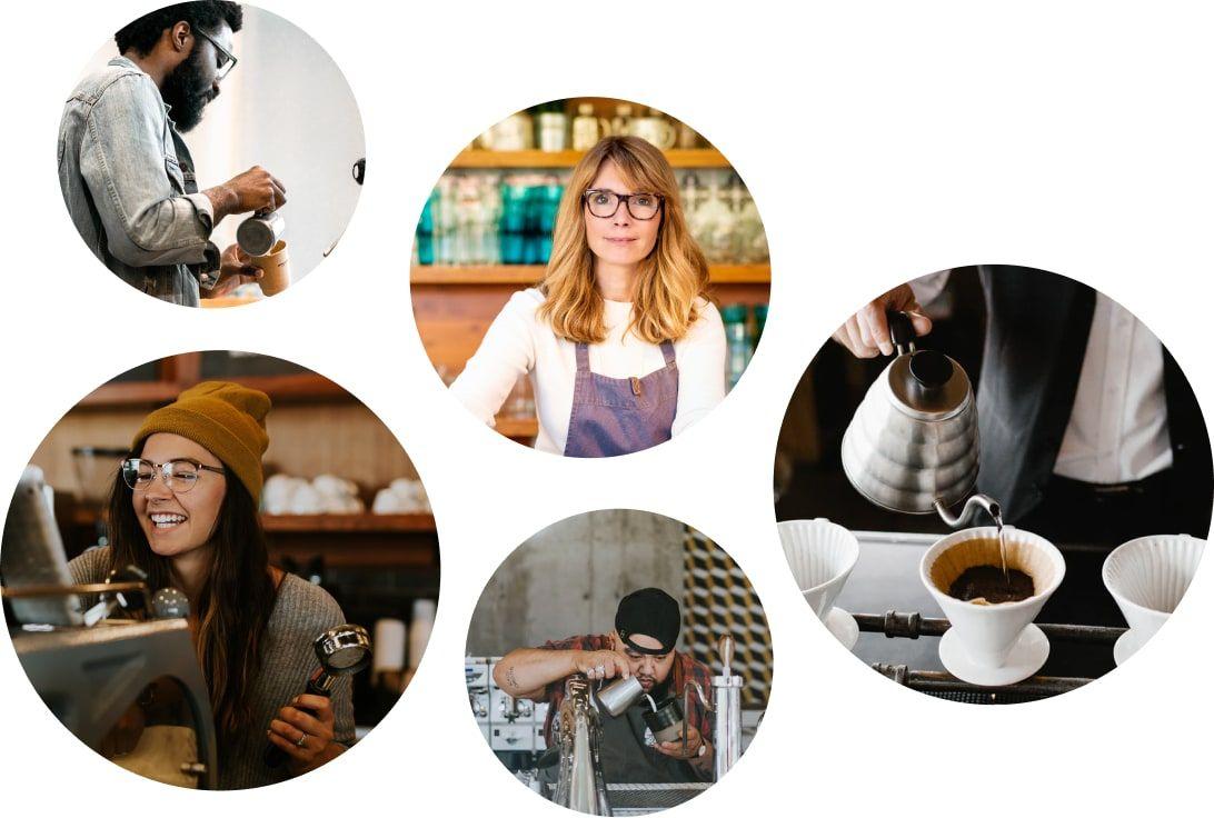 Coffee professionals
