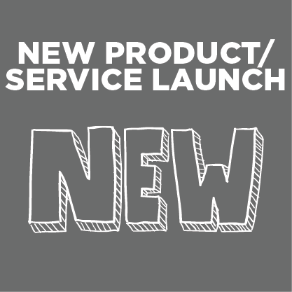 New Product/Service Launch