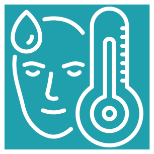 Daily temperature checks where required or recommended