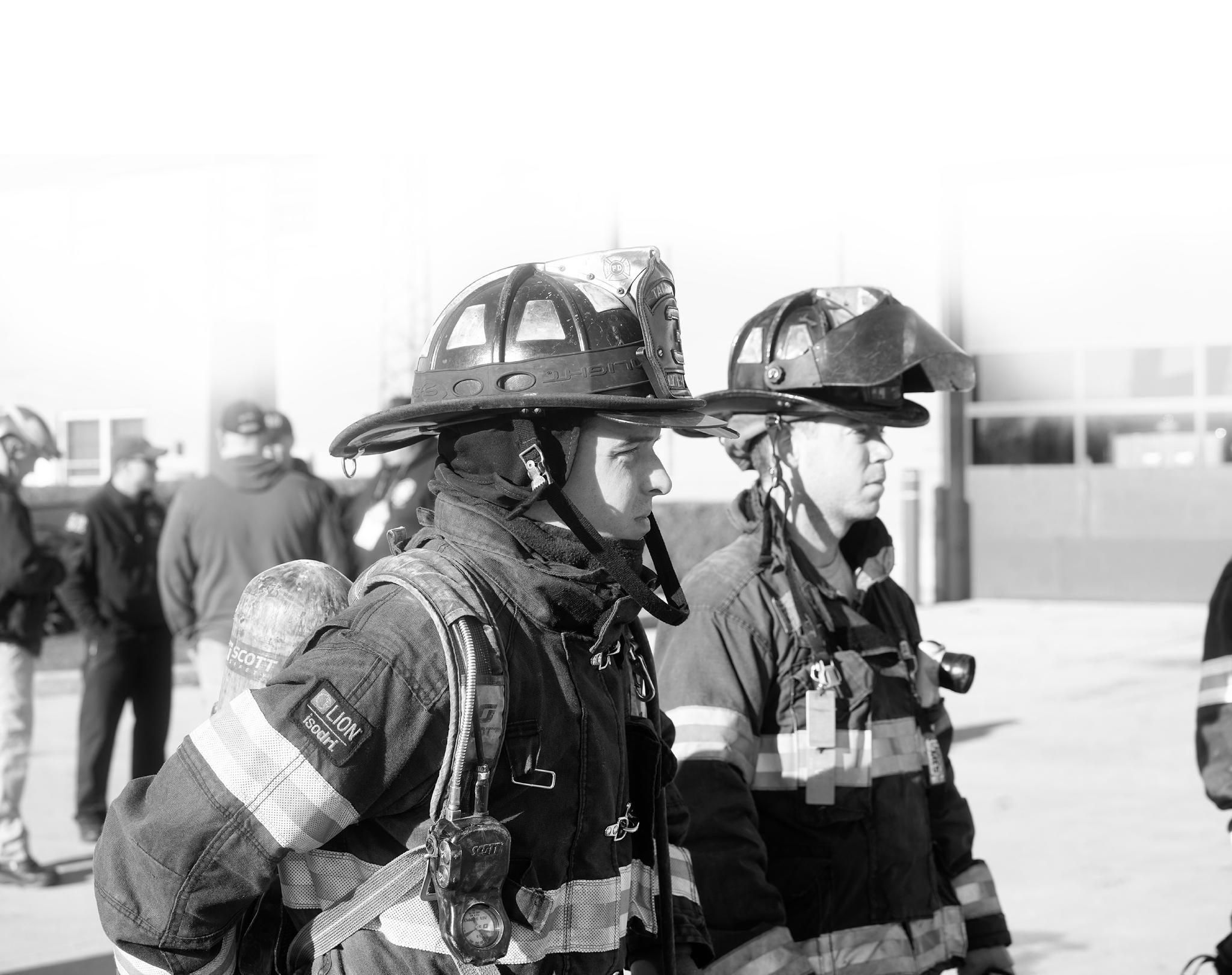 United Fire Conference_Firefighters Standing