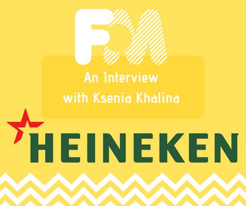 Interview with Heineken