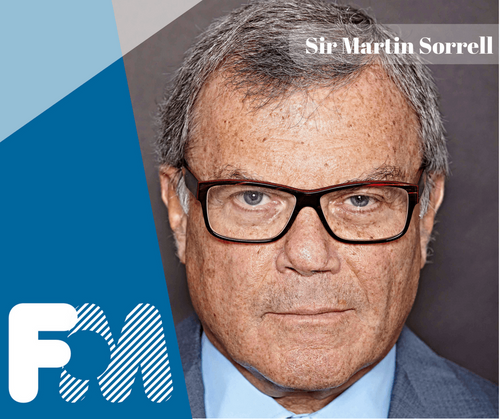 Headliner Announcement: Sir Martin Sorrell returns to Festival of Marketing for 2018