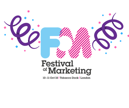 A note from Festival of Marketing Director, Chris Chapman