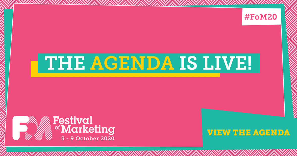 The agenda is live!
