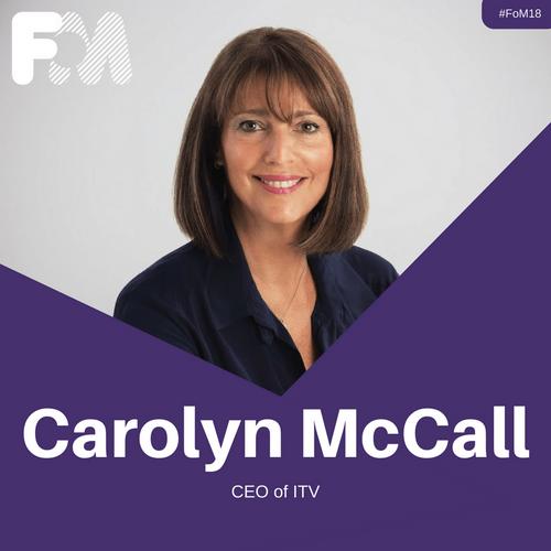 Headliner Carolyn McCall DBE announced for 2018