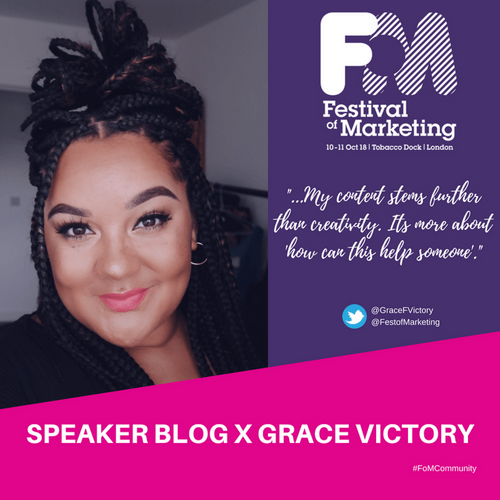 Speaker Blog with Grace Victory