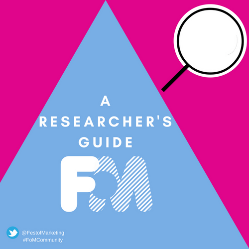 A Researcher's Guide to Festival