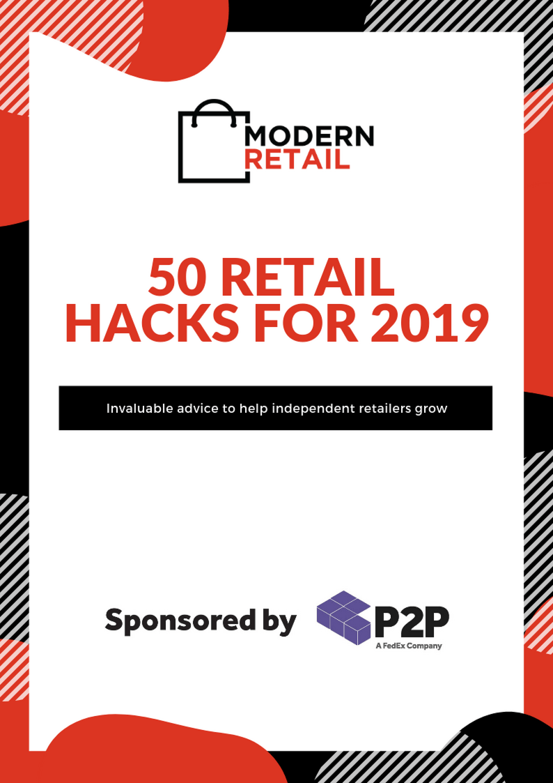 50 retail hacks for 2019 - eBook my Modern Retail