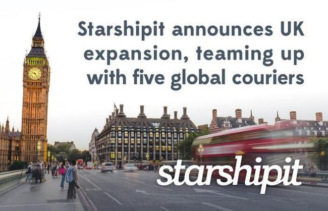 Starshipit announces UK expansion, teaming up with five new global couriers