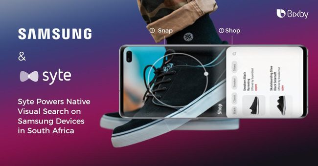Syte is Now Powering Native Visual Search on Samsung Devices in South Africa
