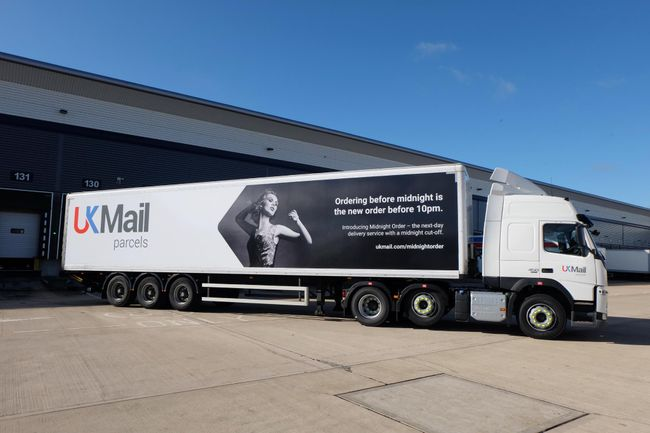 UK Mail launch new campaign for Midnight Order service