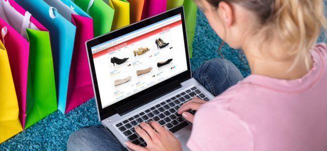 Online sales grew by 5% in January, but store sales were down