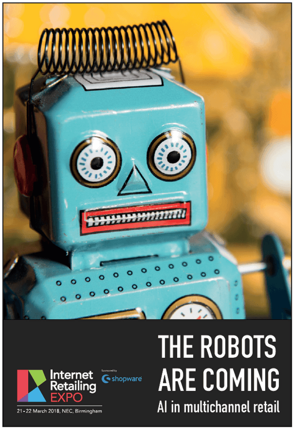 eBook: The Robots are Coming - AI in Multichannel Retail