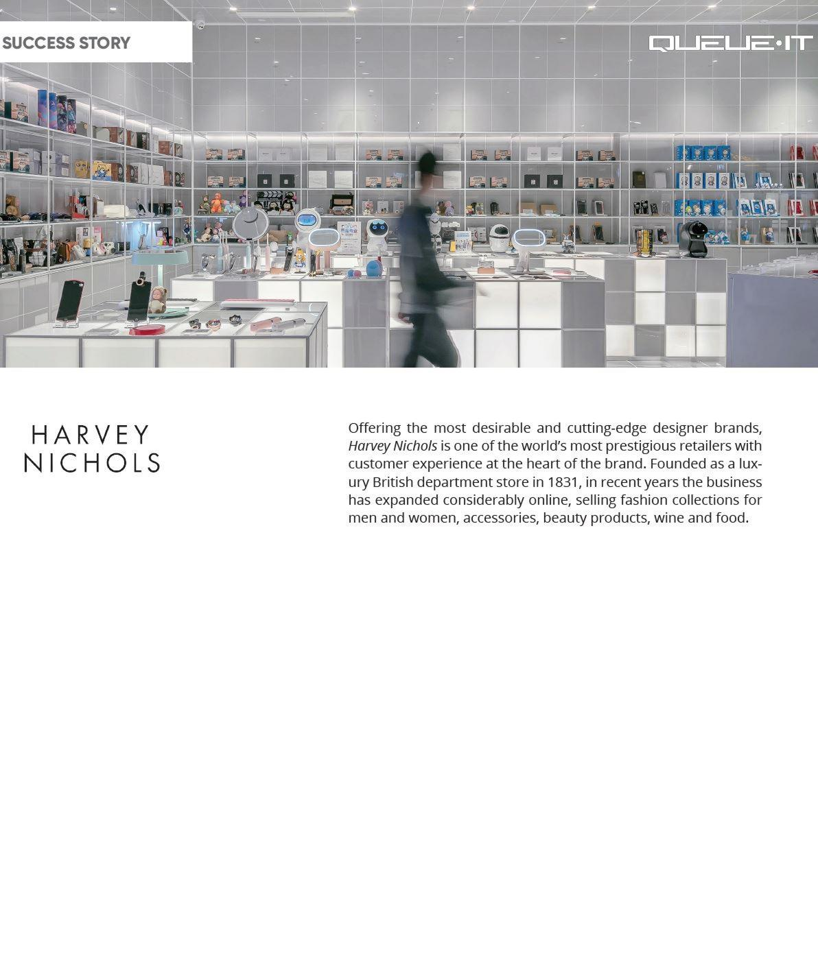 Harvey Nichols success story
