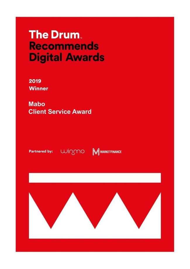 Drum Recommends Client Service Agency Of The Year