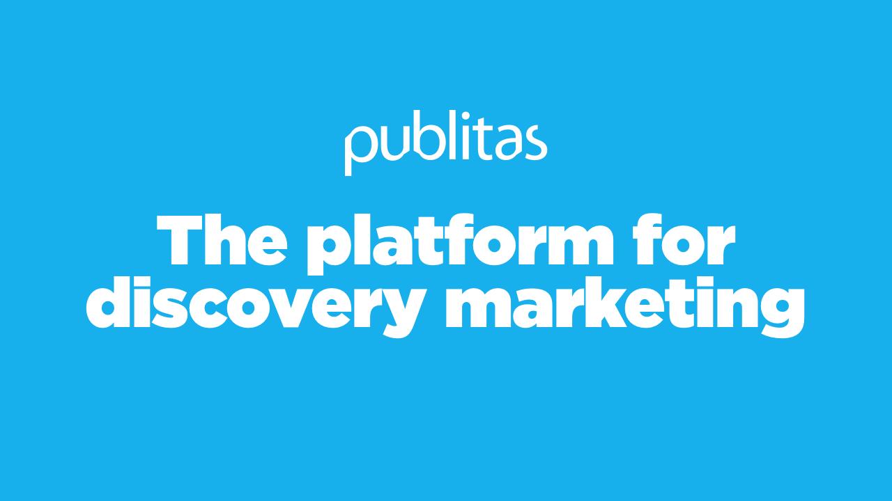 Publitas - Discovery Marketing Platform