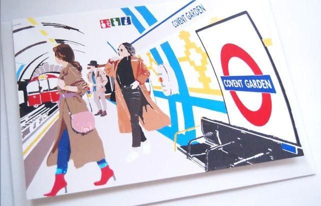 Covent Garden Tube Station