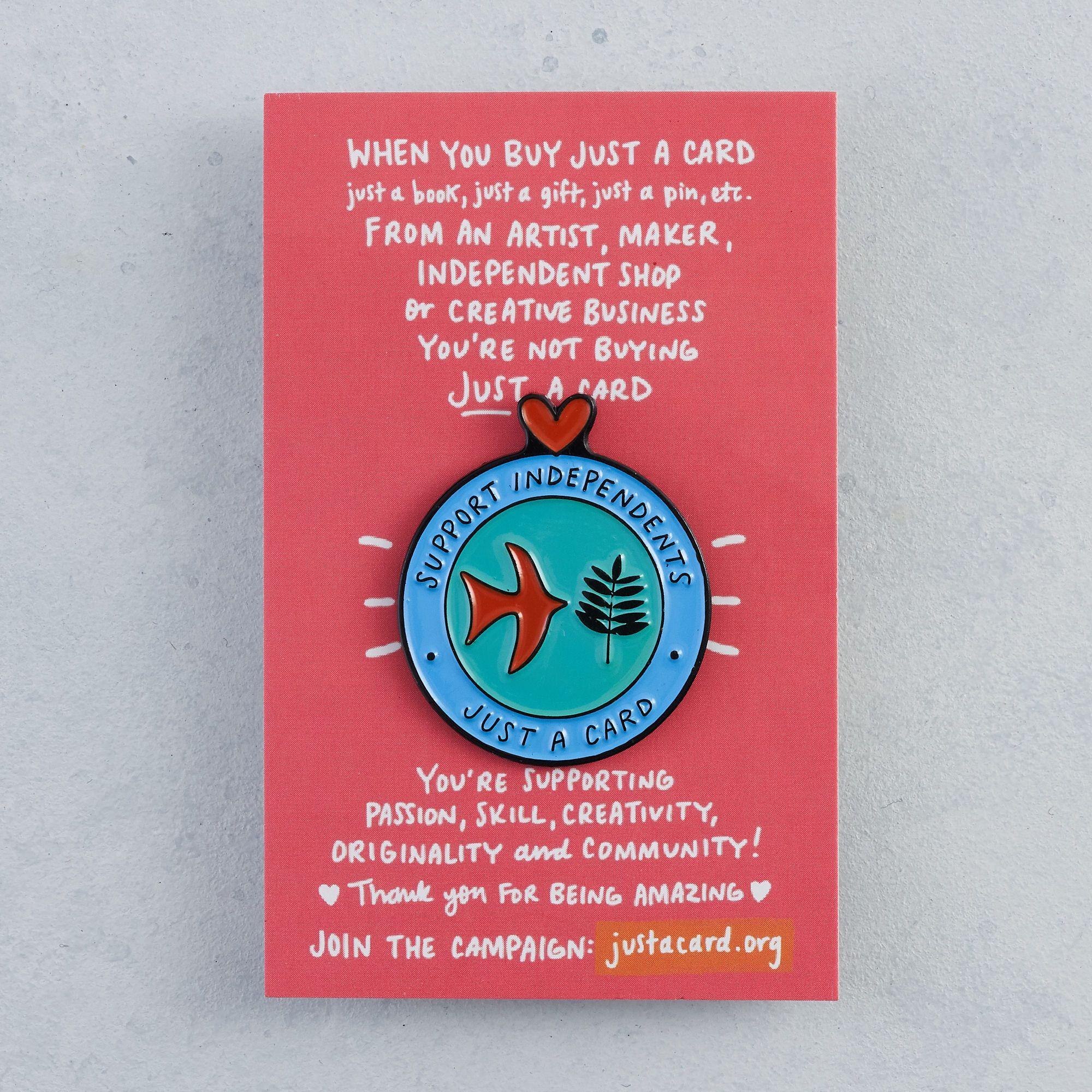 Just a Card Pins