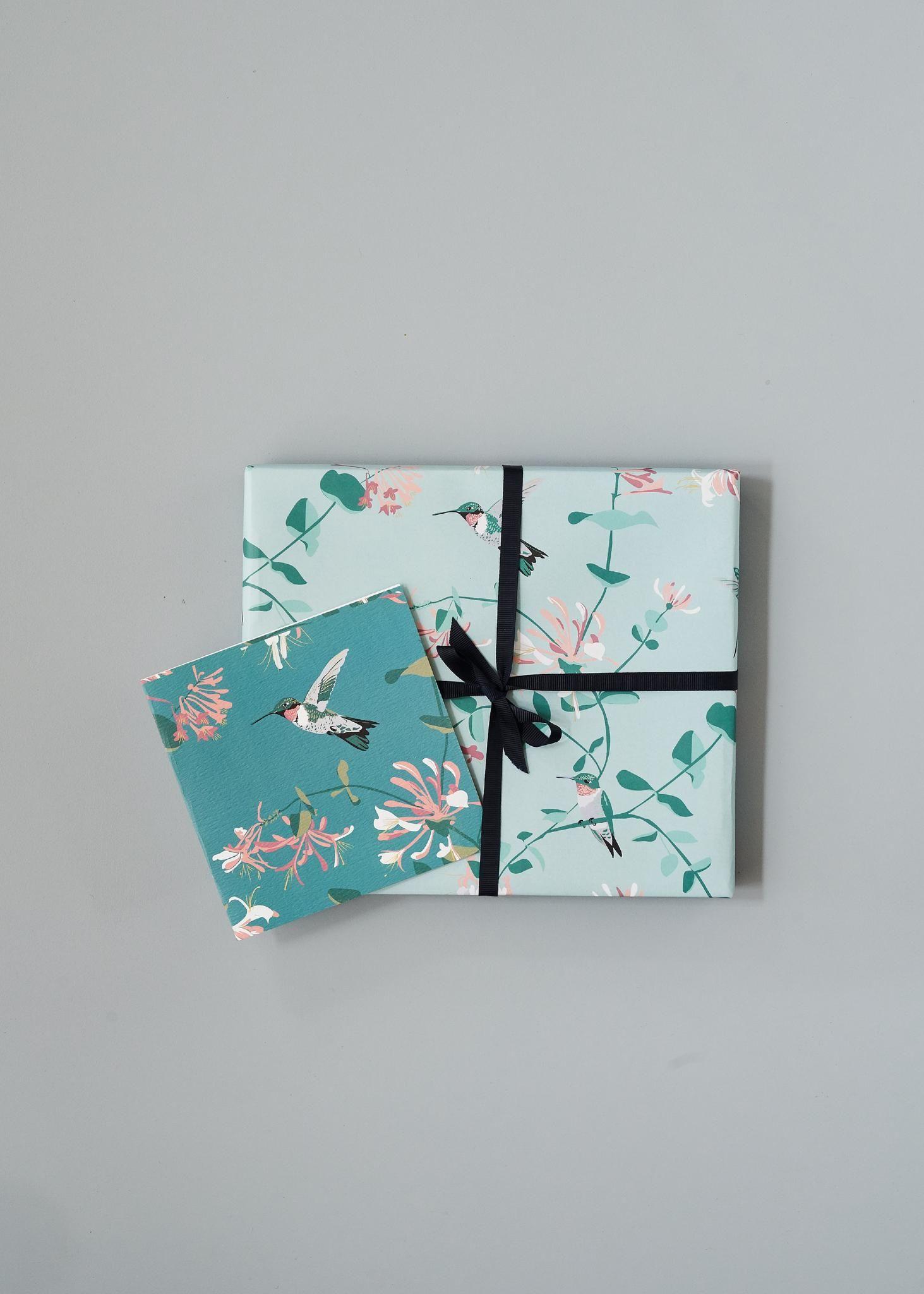 Lorna Syson hummingbird wrap