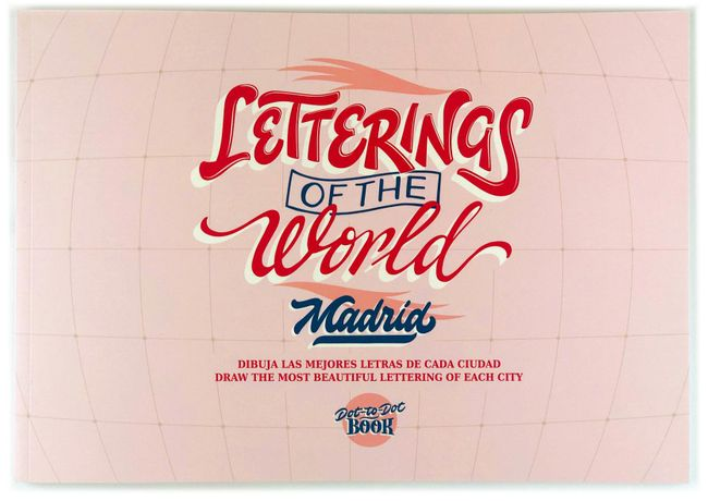 It's time to get creative with Vacito de Leche's new Letterings of the World book