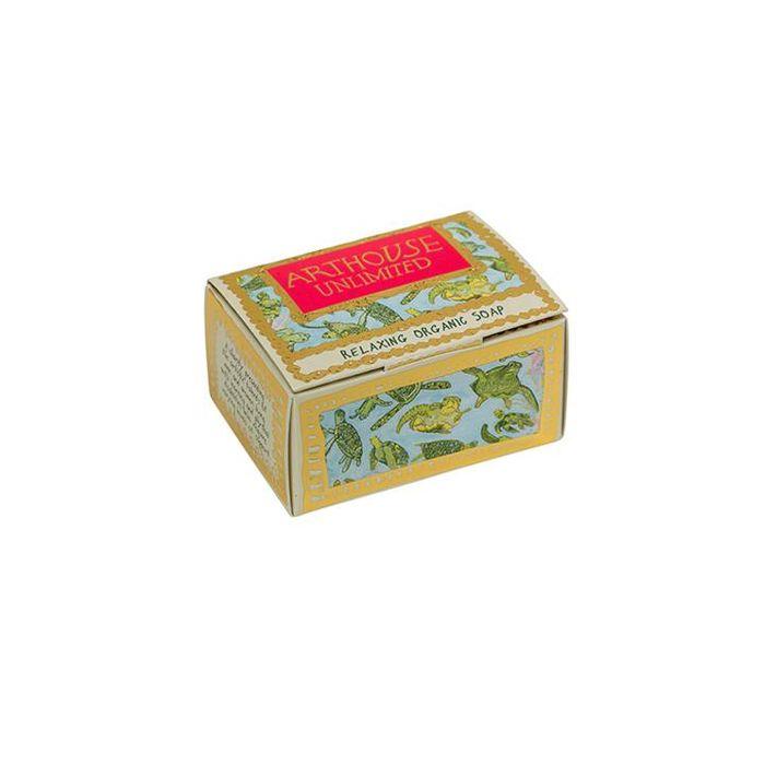 Turtles Design Organic Soap