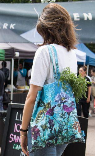 The Bees' Garden - Tote Bag