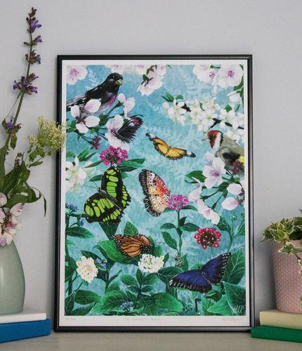 The Butterflies' Beauty - Giclée Print