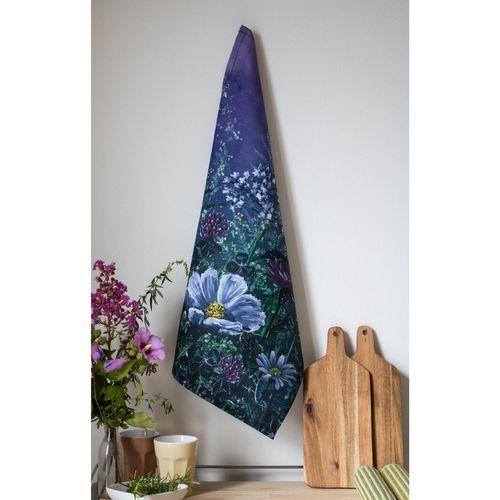 Floral Mystery - Tea Towel