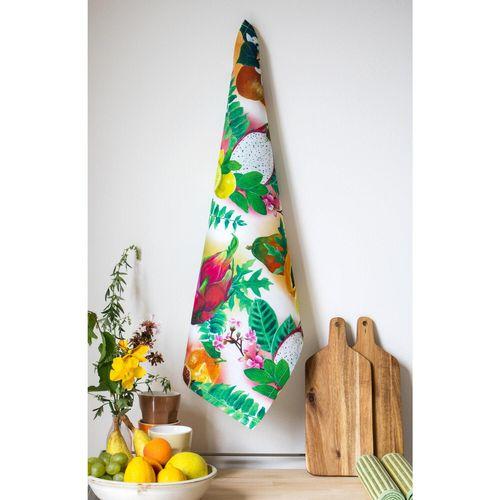 Tropical Bouquet - Tea Towel