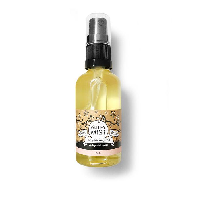 Organic Baby Massage Oil - Pure