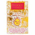 Happy Sunshine Enamel Pin Badge