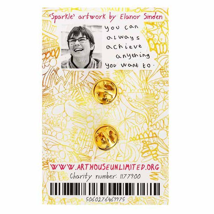 Sparkle Like You Mean It Enamel Pin Badge