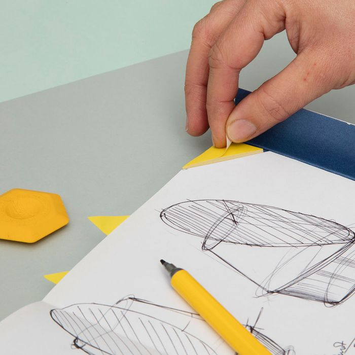 Sticky Tab Notebook