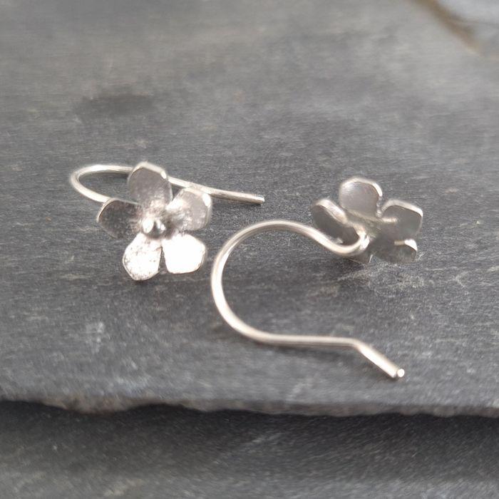 Little Blossom Sterling Silver Earrings