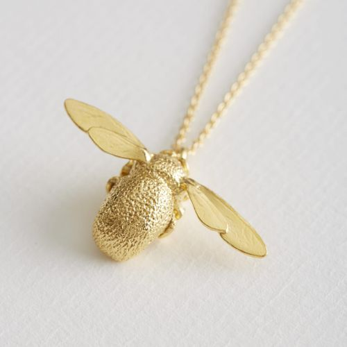 Classic Bumblebee Necklace