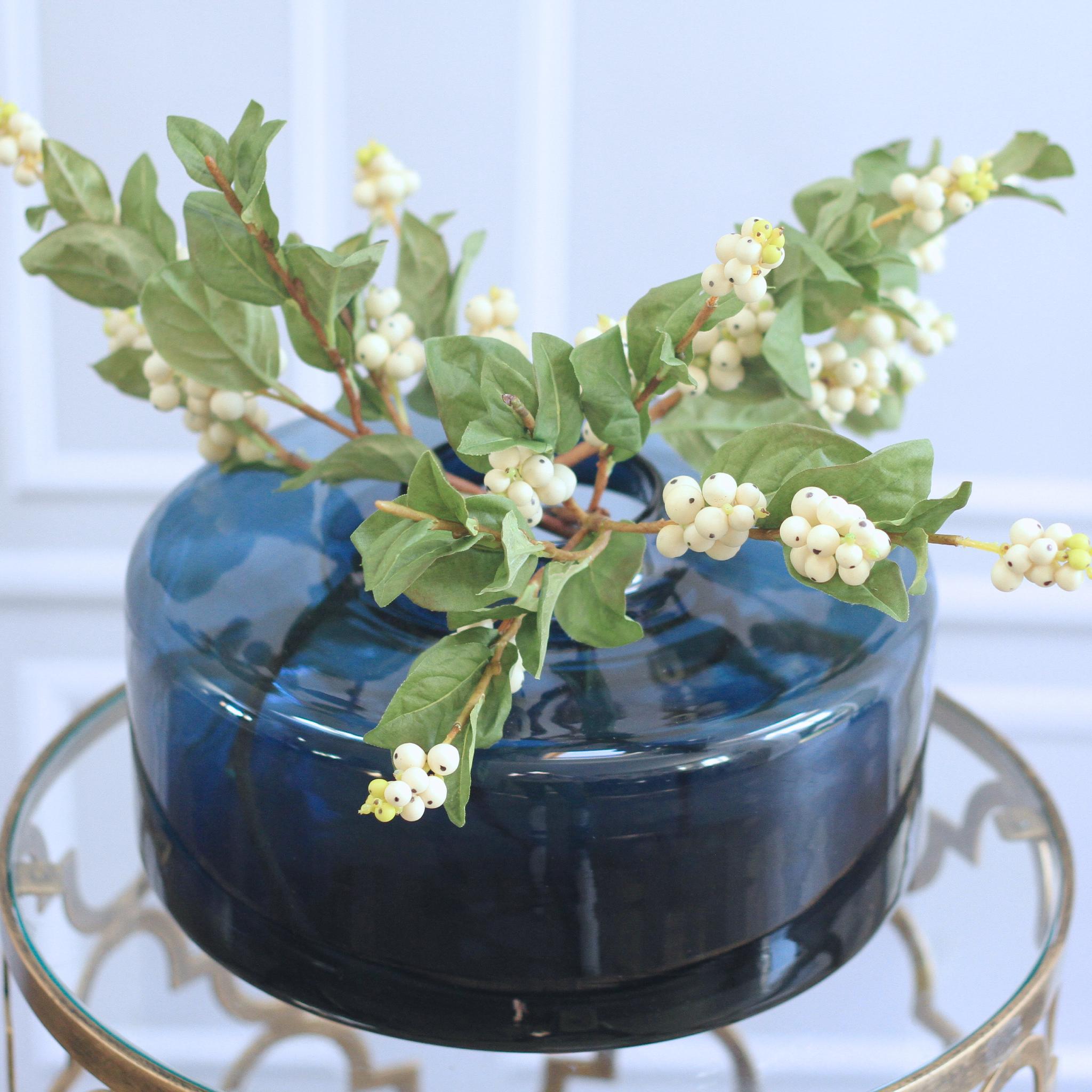 White Snowberry Branch