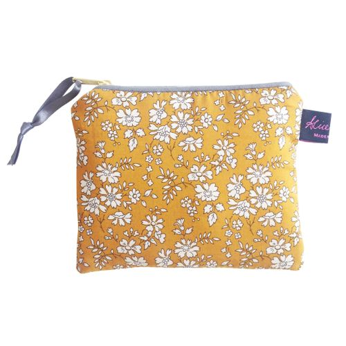 Capel Mustard  Small Purse