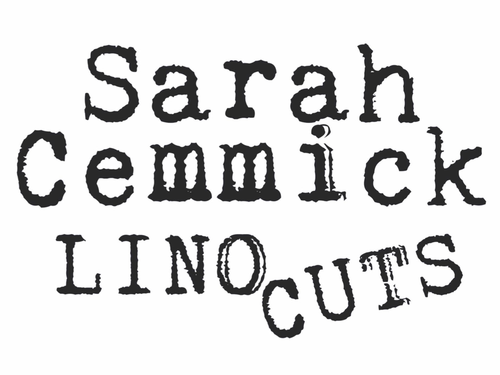 Sarah Cemmick Lino Cuts