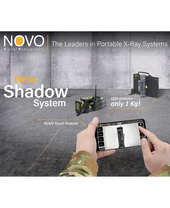 NOVO DR Presents the New NOVO Shadow 12SF System – the Lightest & Smallest System in the World