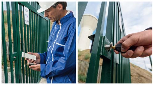 At Veolia, water security is guaranteed by LOCKEN electronic keys