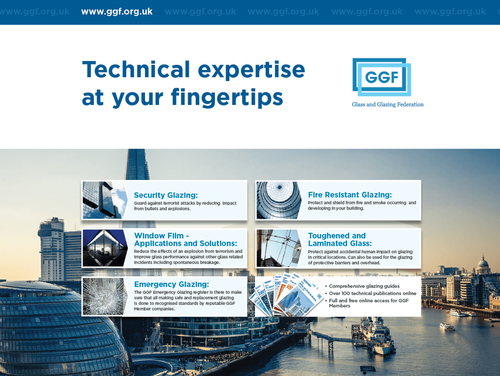 Glass and Glazing Federation (GGF) supports Security & Counter Terror Expo