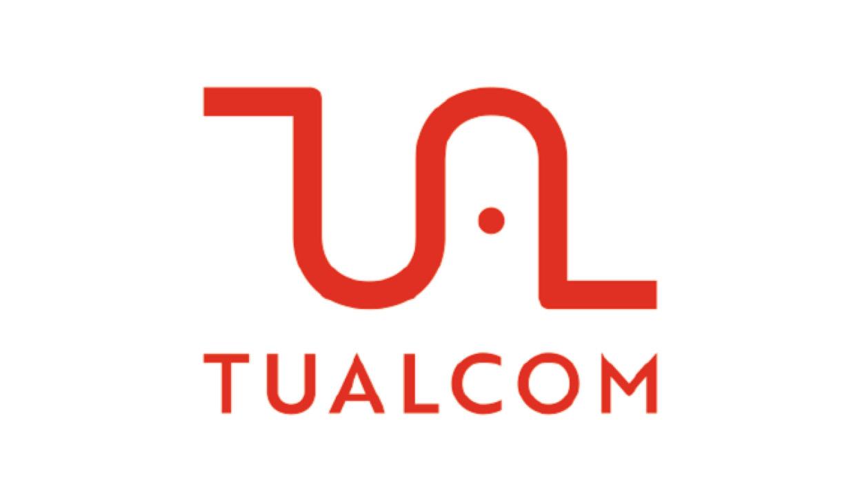 Tualcom logo