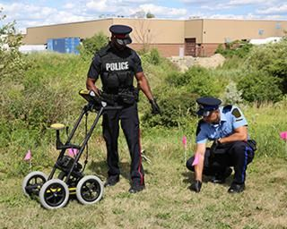 FINDAR®  - GPR for Forensic Investigations