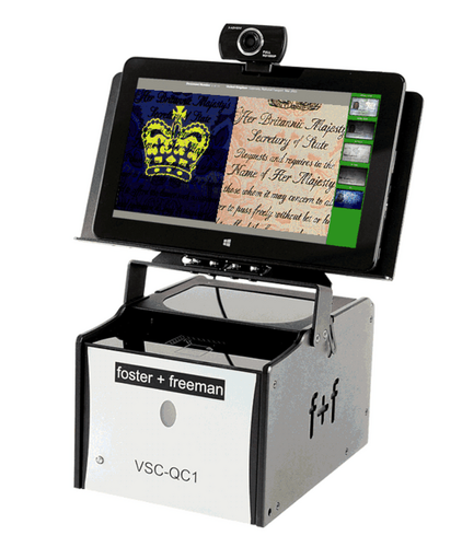 Updated document scanner enables forensic-level examination of passports on the front line