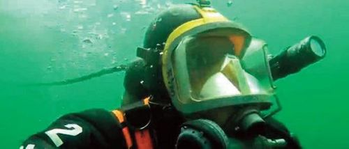 Buried Treasure: The underwater crime scene can provide a rich source of evidence.