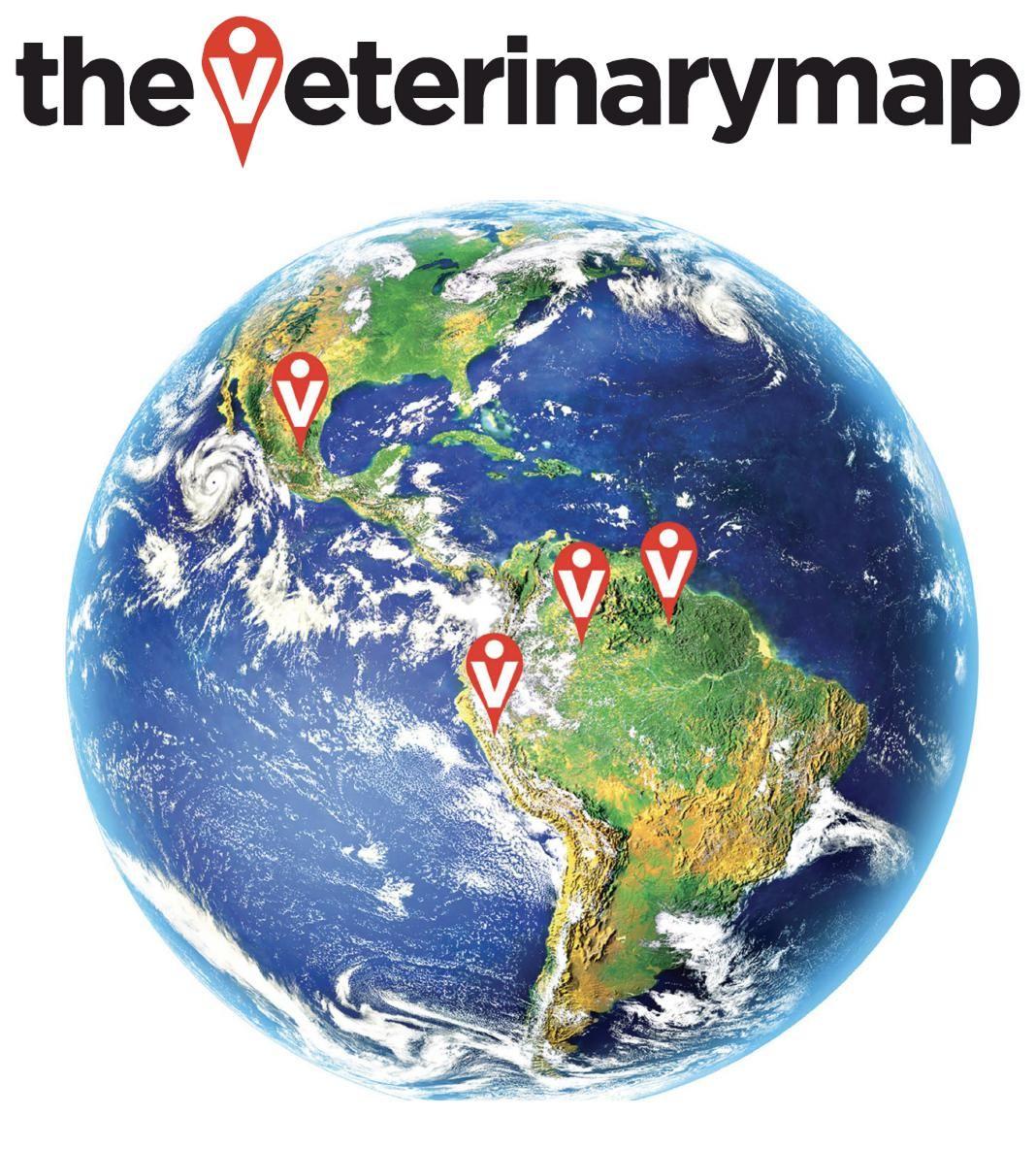 The Veterinary Map