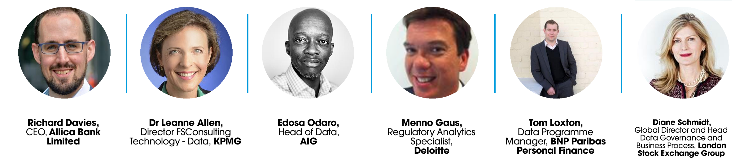 Featured speakers include: